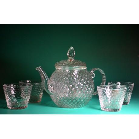 ชุดกาชงชา พร้อมแก้ว 4 ใบ