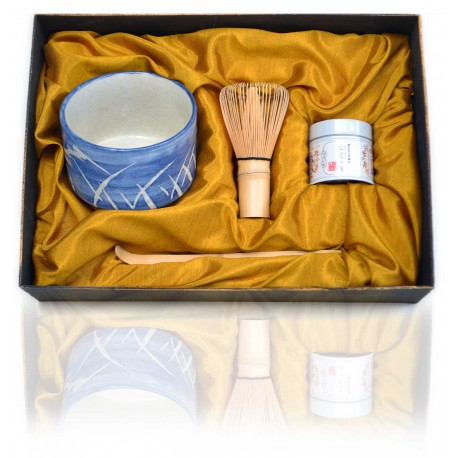 Matcha Tea Set for Traditional Japanese Tea Ceremony