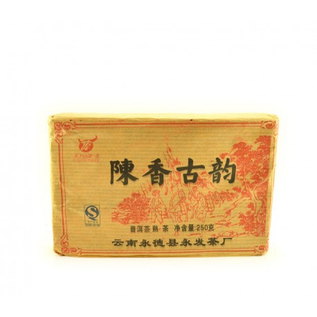 Square shape pu-erh from china 2009
