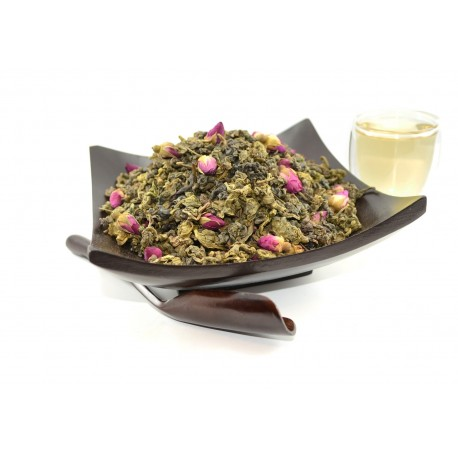 Rose Pouchong tea