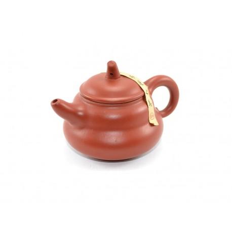 Oak clay teapot