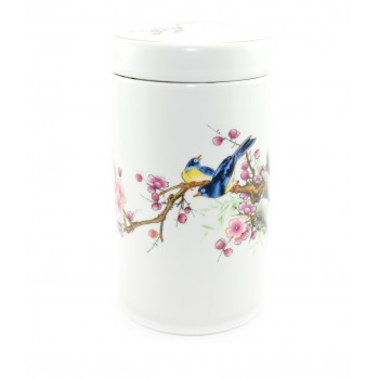 "Loose tea storage ""Summers birds"""