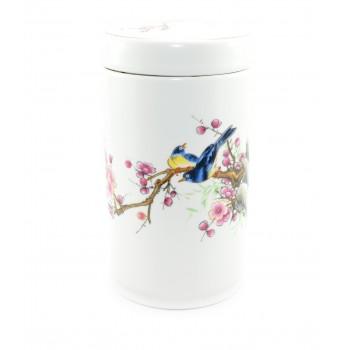 "Loose Tea Storage ""Summer Birds"""