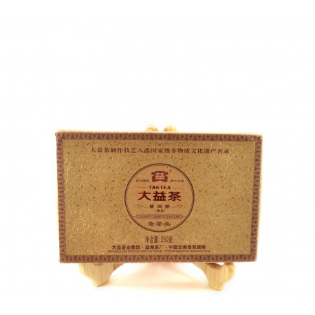 Black Pu-Erh Brick 2012
