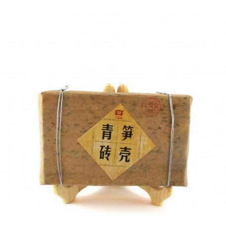 Bamboo Wrapped Raw (Green) Pu-erh tea