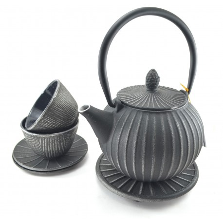 Silver Cast Iron tea sets