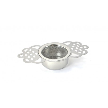Strainer with Handles and Holder