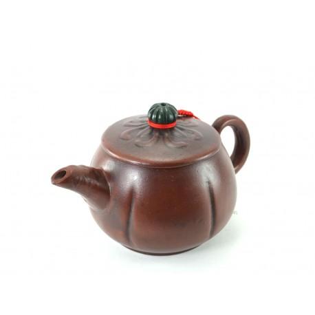 Pumpkin Yixing Clay Teapot
