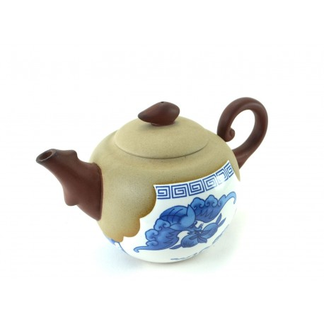 Unique White Clay Teapot