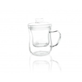 Glass Coffee & Tea Cup
