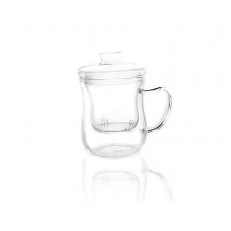 Glass Coffee & Tea Cup