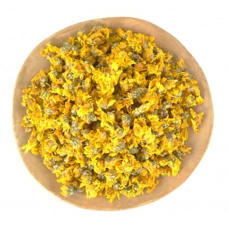 Чай из желтых хризантем