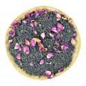 Чай со вкусом личи и лепестками роз