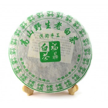 Fuding Shou Mei White Tea Cake 2012