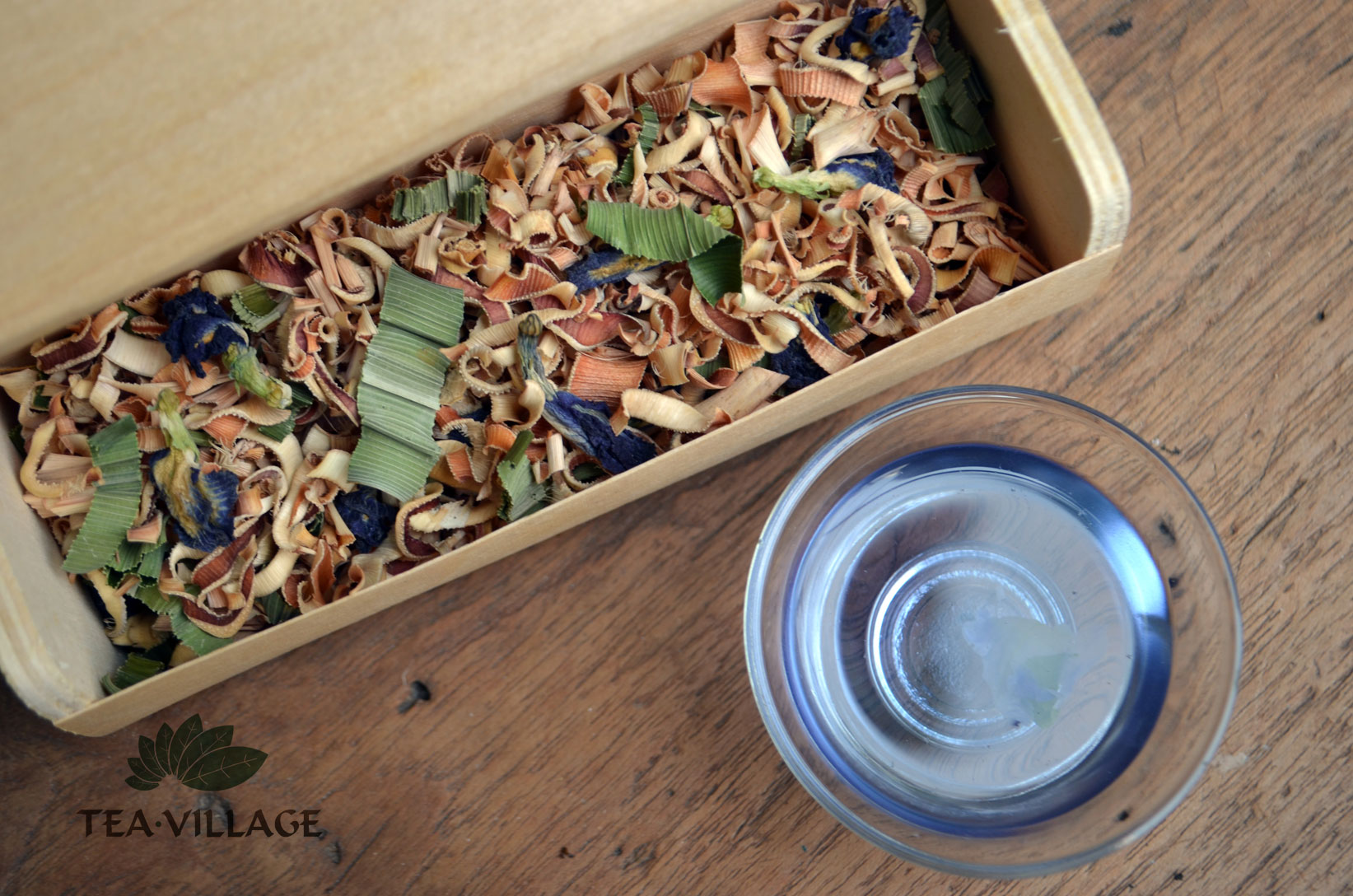 The Summer Breeze Herbal Blend of Tea Village