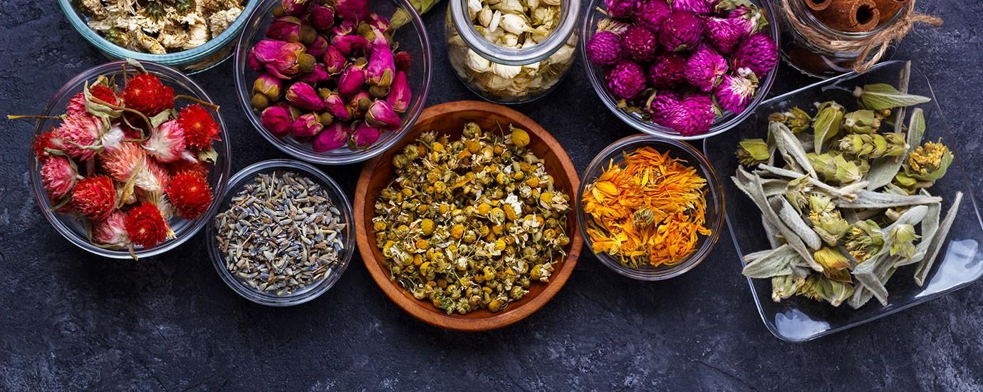 Цветочные чаи